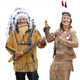 Apache Indianen - Los del Sol boeken of inhuren | JB Productions