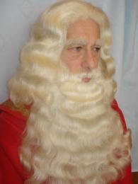 Luxe Sinterklaas Baard huren, Sinterklaas baardstel | SintenKerst
