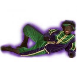 Op de foto met Zwarte Piet