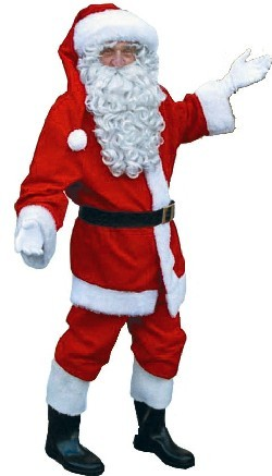 Luxe kerstman kostuum huren | SintenKerst