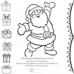 Kerst Kleurplaten | Sint en Kerst