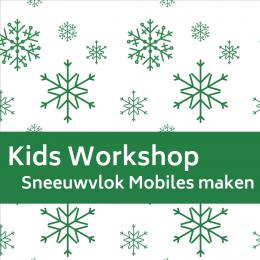 Sneeuwvlok Mobile Terras | Sint en Kerst