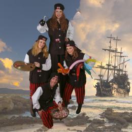 Het Te Gekke Piraten Team boeken of huren