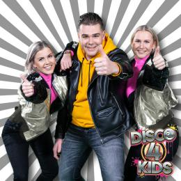 Disco 4 Kids - Kindershow boeken of inhuren | Artiestenbureau JB Productions