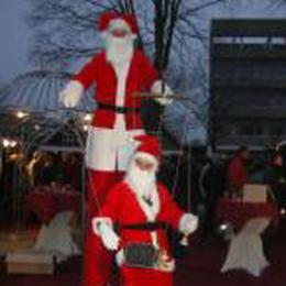 Kerstman en Kerstmaatje