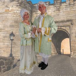 De Hofdame en Lakei delen uit inhuren | JB Productions