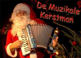 Muzikale Kerstman met Accordeon