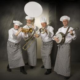Swinging Dixieband als Koks boeken of inhuren | JB Productions