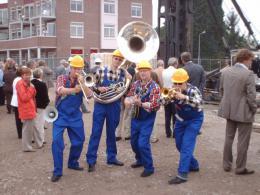 Swinging Dixieband als Bouwvakkers boeken of inhuren | JB Productions
