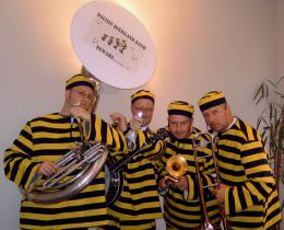 Swinging Dixieband als Daltons boeken of inhuren | JB Productions