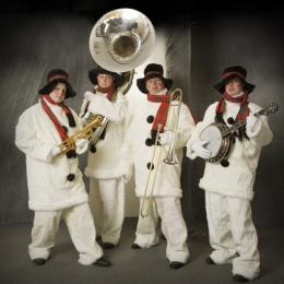 De Swinging Sneeuwmannen Band boeken of inhuren