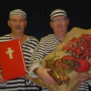 De Zware Jongens en het gestolen boek van Sinterklaas - Sinterklaasshow inzetten