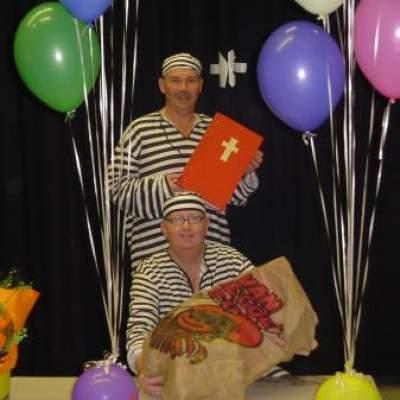 De Zware Jongens en het gestolen boek van Sinterklaas - Sinterklaasshow inhuren