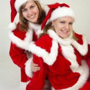kerstvrouwtje kostuum Partyspecialist