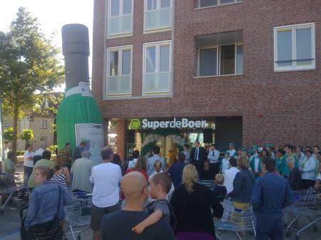 Fotoalbum van Opblaasbare Champagne Fles   SintenKerst.nl