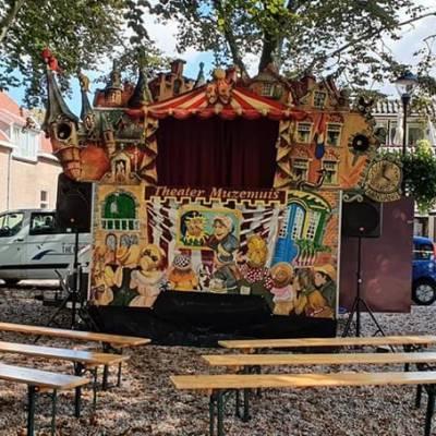 Muzemuis poppentheater op locatie inhuren
