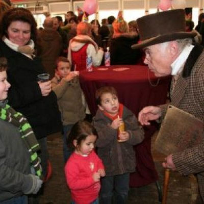 Foto van Dickensverteller of Scrooge | SintenKerst