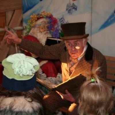 Foto van Dickensverteller of Scrooge | Artiestenbureau SintenKerst.nl