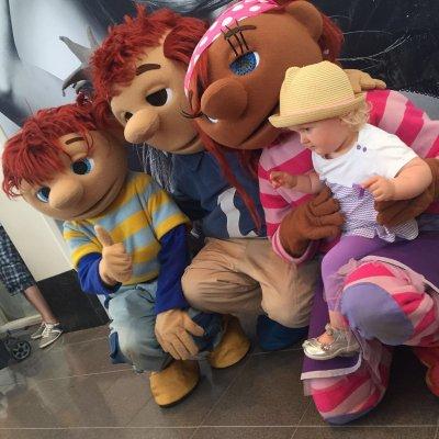 Toto, Sassa en koning Koos op locatie