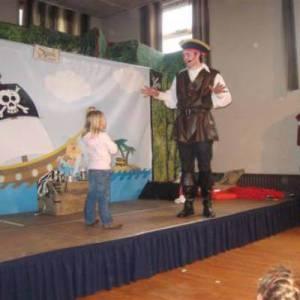 Piraat voor kinderfeestje Partyspecialist