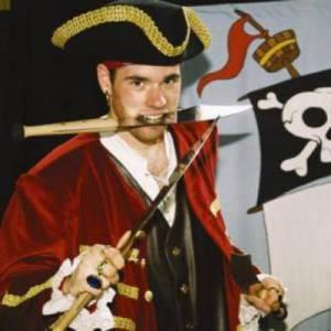 Piraat voor kinderfeestje inhuren Partyspecialist