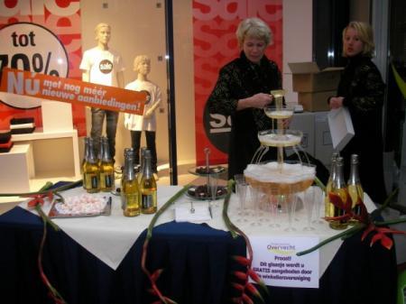 Fotoalbum van Champagne Fontein | SintenKerst.nl