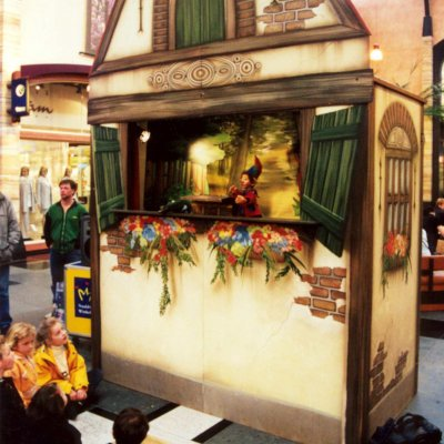 Foto van Mega Poppentheater Wonderkast | Poppentheaters.nl