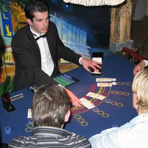 Blackjack Tafel inzetten?