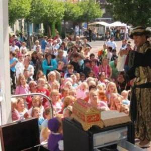 Aladdin Kindershow inhuren?