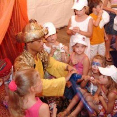 Aladdin Kindershow boeken?