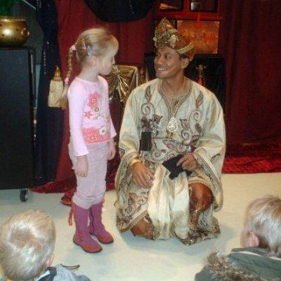 Inhuren van Aladdin Kindershow
