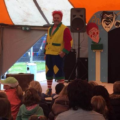 Clown met kindershow inhuren