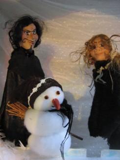 Foto van Poppenkastvoorstelling De Winterkoningin | Kindershows.nl
