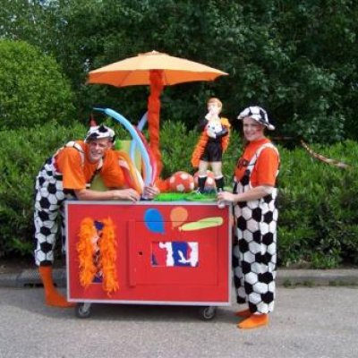Foto van Kids Surprise Car | Clownshow.nl