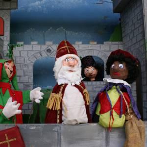 Poppenkastvoorstelling Het Kasteel van Sinterklaas boeken