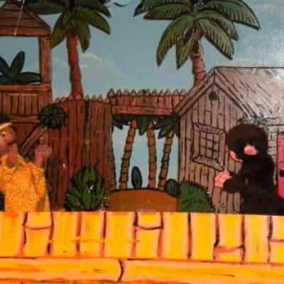 Fotoalbum van Poppenkastvoorstelling Sinterklaas op vakantie - Sinterklaasshow | Poppentheaters.nl