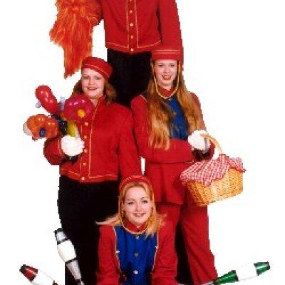 Fotoalbum van Het Te Gekke Clowns Team | Attractiepret.nl