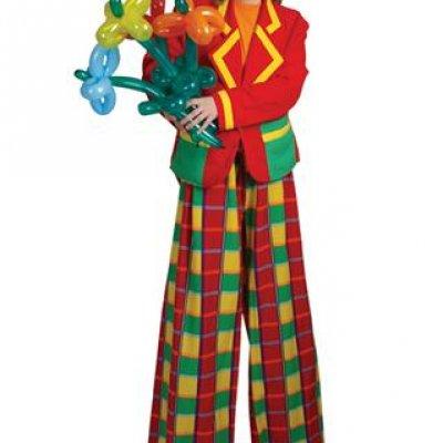 Ballonnen Clown Tuutje inhuren