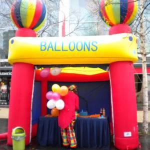 Ballonnenstand huren