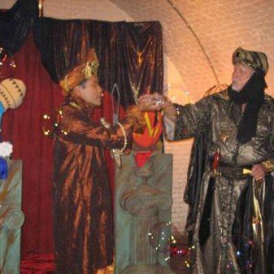 Foto van Sinbad & Aladdin - Kindershow | Kindershows.nl