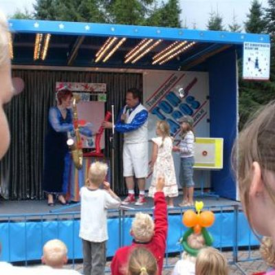 Fotoalbum van De Lachen is Okee Show - Kinder Roadshow | kindershows.nl