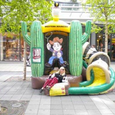 Foto van Springkussen Western | Kindershows.nl