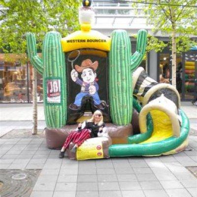 Fotoalbum van Springkussen Western | Kindershows.nl