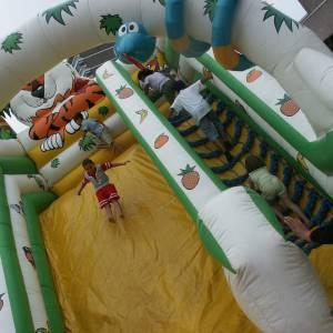 De Tropical Kids Slide - Glijbaan huren