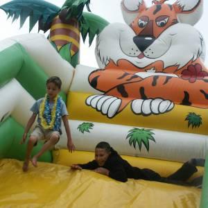 De Tropical Kids Slide - Glijbaan inhuren