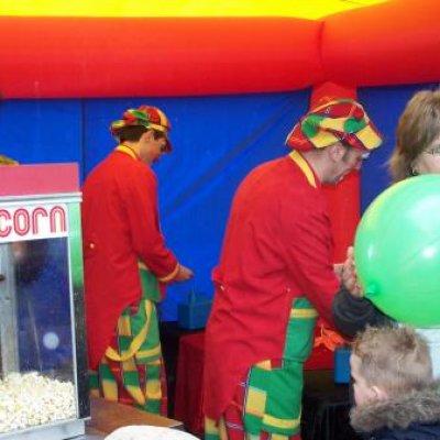 Punchballonnen Stand inhuren