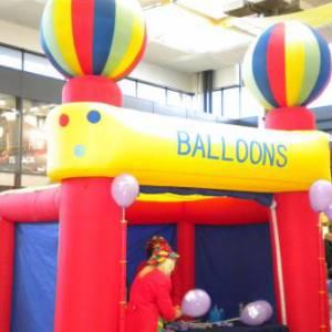 Foto van Opblaasbare Ballonnentent | Partyspecialist.nl