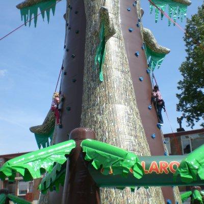 Fotoalbum van Gorilla Climb - de grootste klimtoren Europa | Kindershows.nl