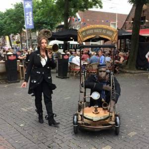 Mobiele act Het kleinste orgeltje ter wereld inhuren?