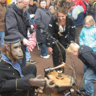 Foto van Het kleinste orgeltje ter wereld (Kerst Act) | Artiestenbureau SintenKerst.nl